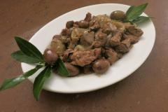 Coratella con olive